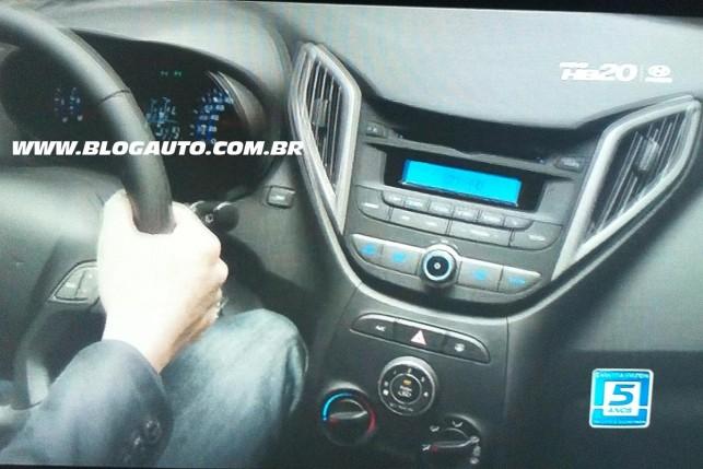 Painel do Hyundai HB20