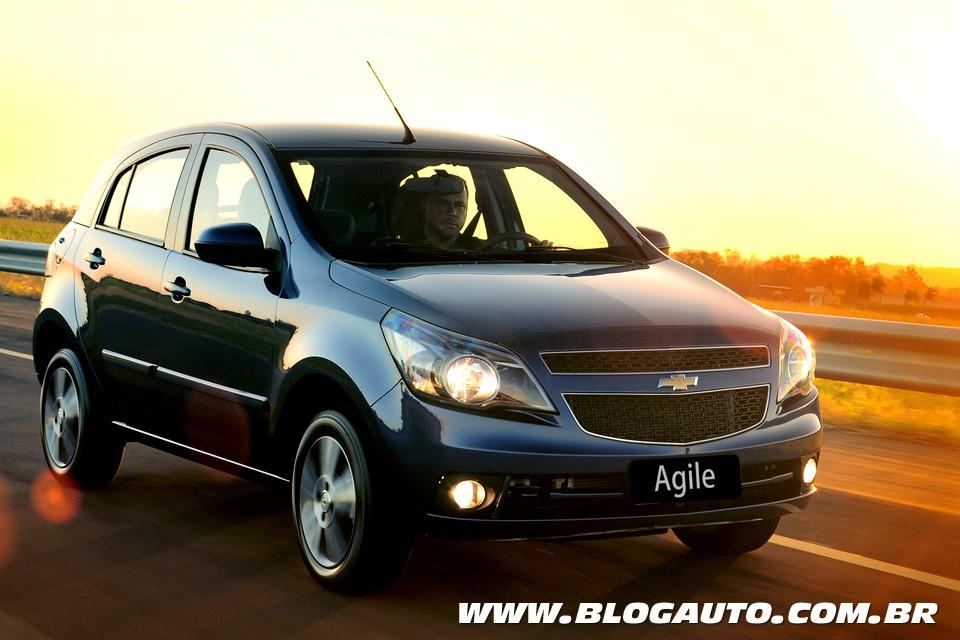Chevrolet Agile recebe câmbio automatizado Easytronic