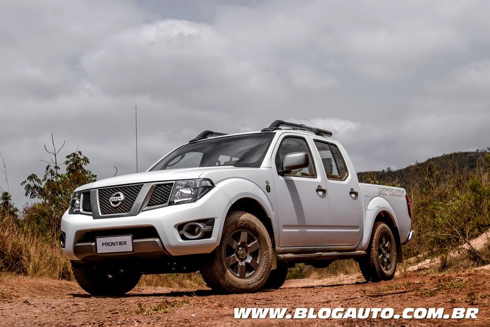 Nissan Frontier inova em equipamentos com série 10 Anos