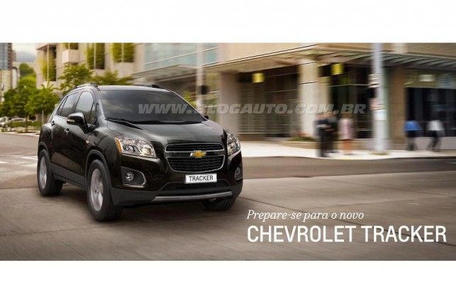 Imagem do Chevrolet Tracker divulgada no Facebook