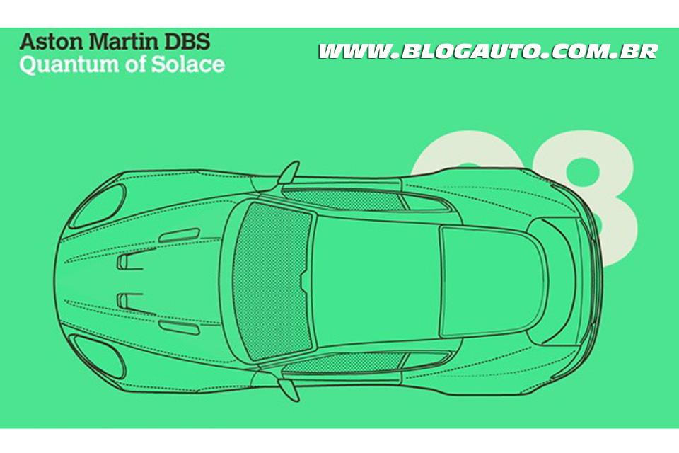 Infográfico: Todos os carros do James Bond o agente 007
