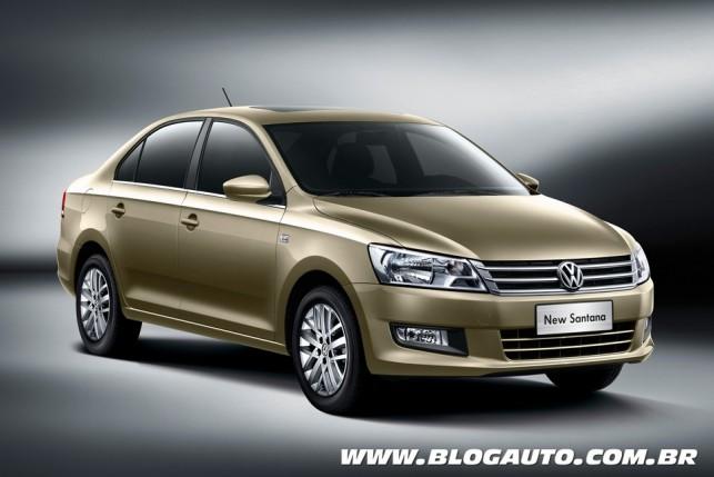 Novo Volkswagen Santana
