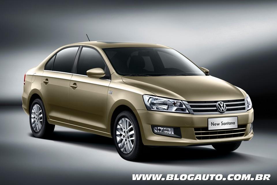 Volkswagen Santana ganha nova geração no mercado chinês
