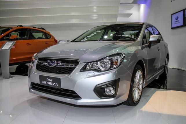 Subaru Impreza Sedan 2013