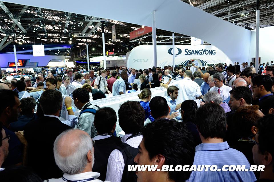 Começa o 27o Salão Internacional do Automóvel de São Paulo