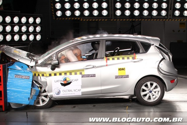 Ford New Fiesta Hatch no Latin NCAP