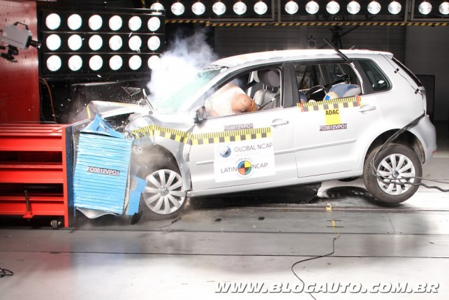 Volkswagen Polo Hatch no Latin NCAP