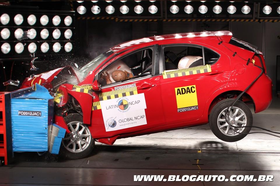 Latin NCAP divulga resultados; J3 e Sandero têm uma estrela