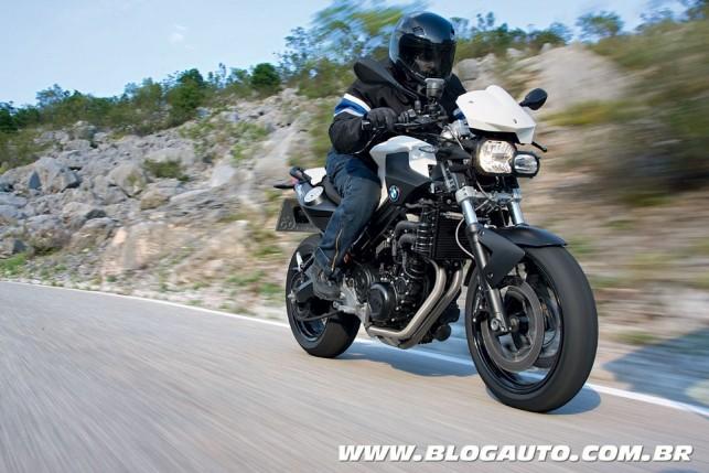 Naked até 800cc - BMW F 800R