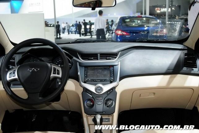 Chery Celer reestilizado (Foto: Car News China)