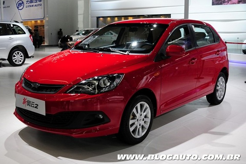 Chery Fulwin reestilizado (Foto: Car News China)