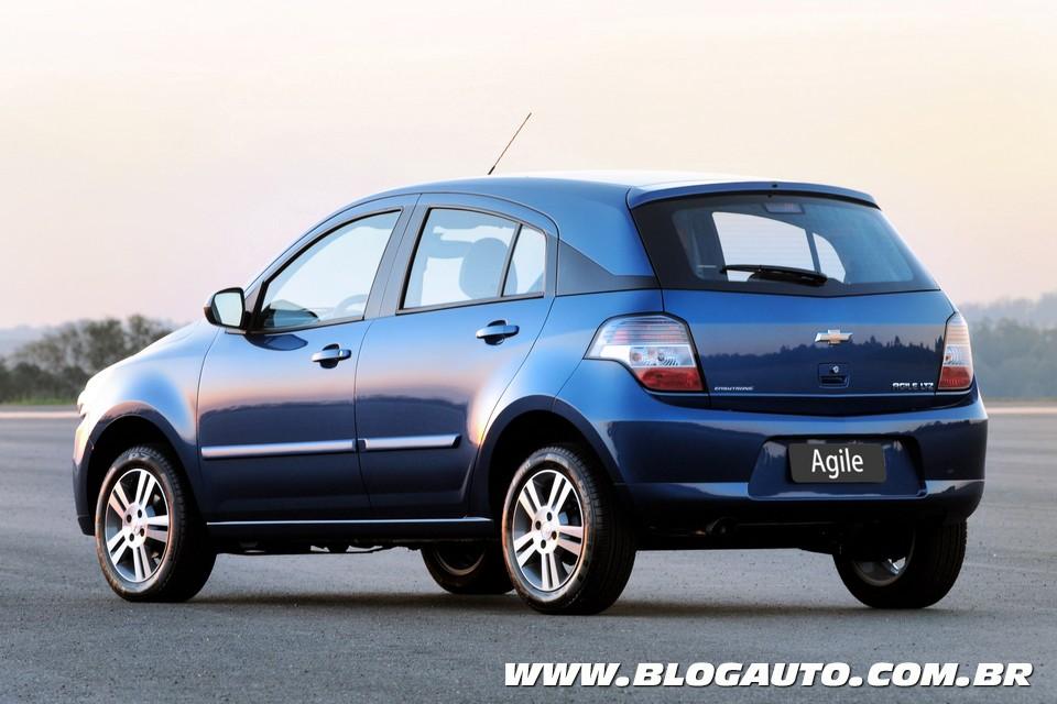 Chevrolet Agile Easytronic chega por R$ 43.790