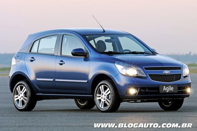 Chevrolet Agile Easytronic 2013