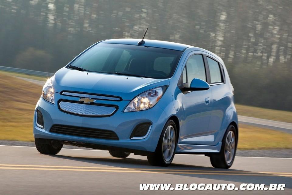 Chevrolet Spark EV é revelado e traz motorização potente
