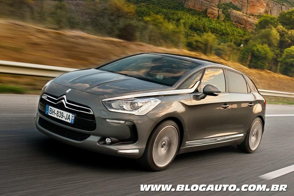 Citroën DS5 tem lançamento antecipado para dezembro