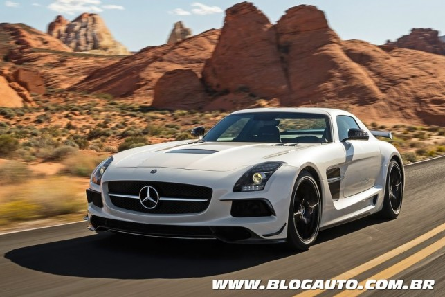 Mercedes-Benz SLS AMG Black Series 2013