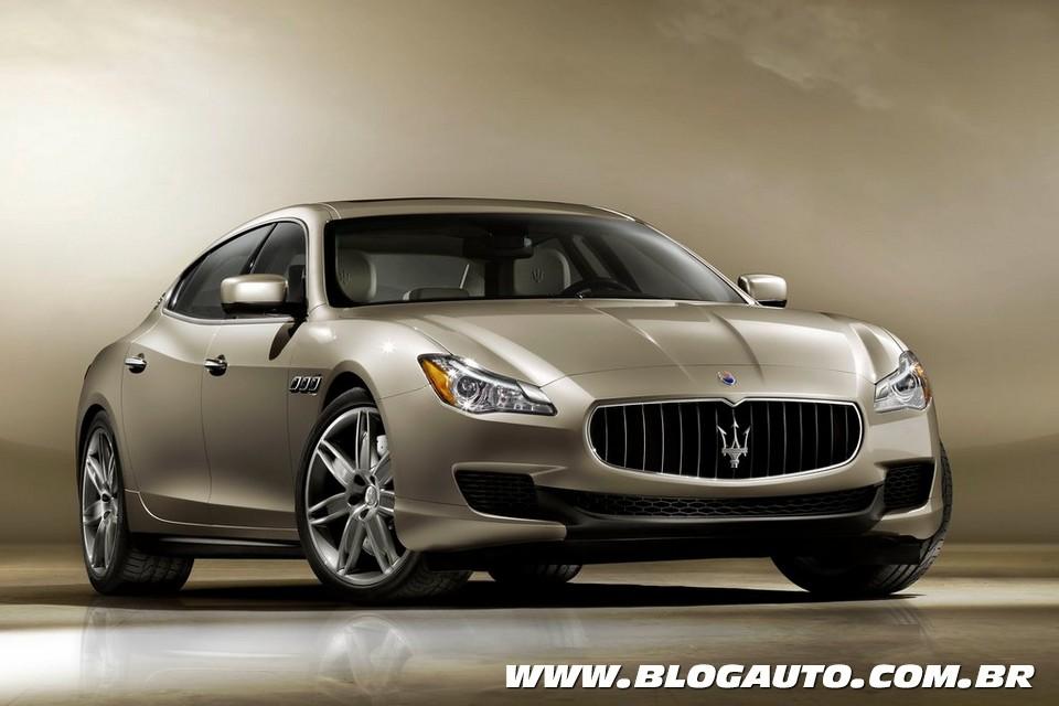 Nova Maserati Quattroporte chega ao Brasil por R$ 950 mil