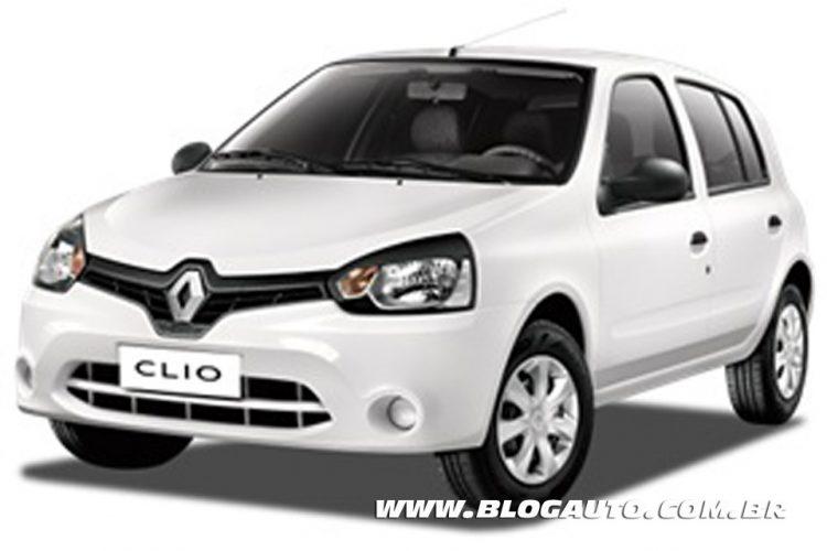 Renault Clio Branco Glacier Sólida