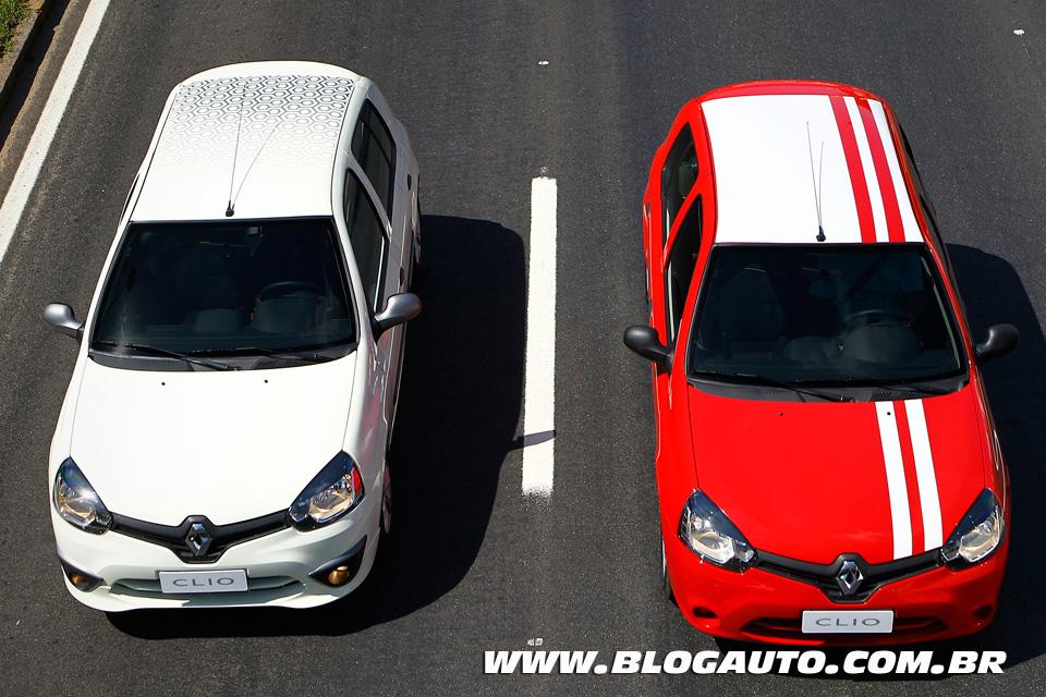 Renault Clio 2013 conheça todas as cores