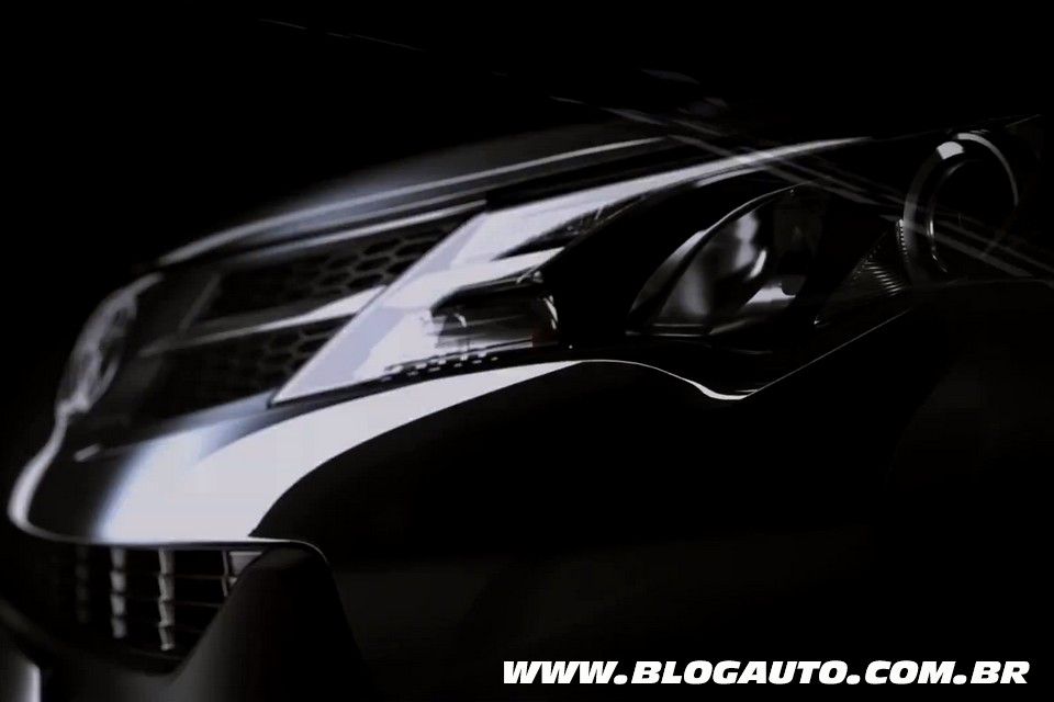 Teaser do novo Toyota RAV4