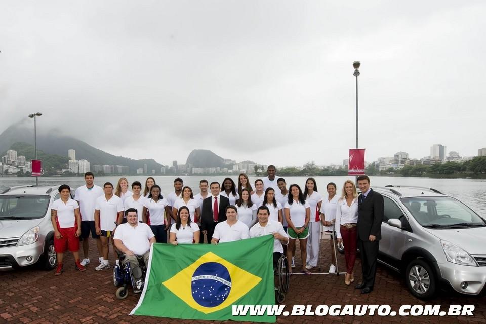Nissan apresenta seu time para as Olimpíadas 2016