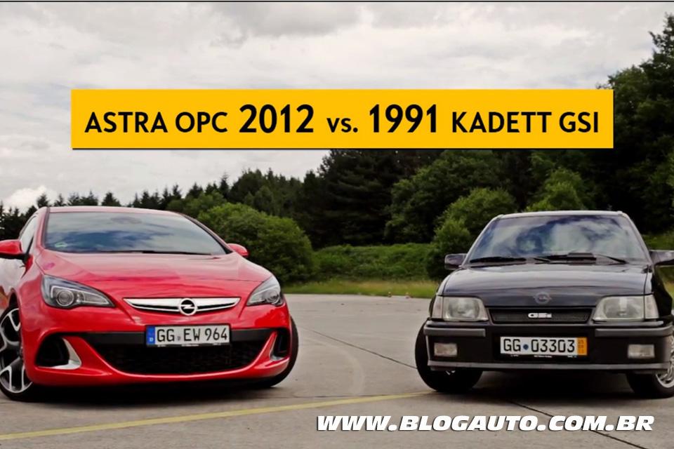 Astra OPC 2012 vs. Kadett GSi 1991