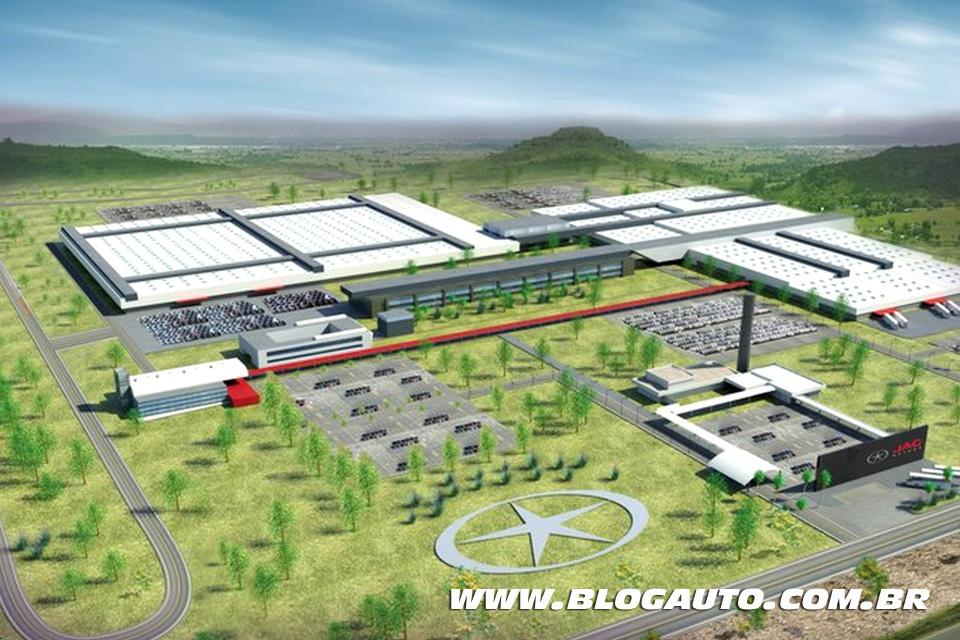 Futura fábrica da JAC Motors na Bahia