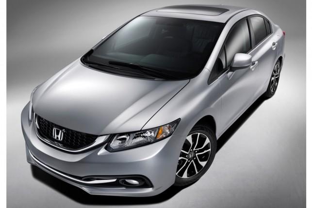Honda Civic 2013 reestilizado (EUA)