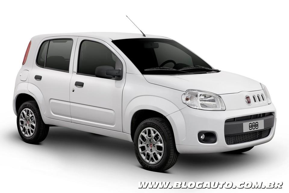 Fiat Uno Vivace 2013 agora com ABS e airbag de série