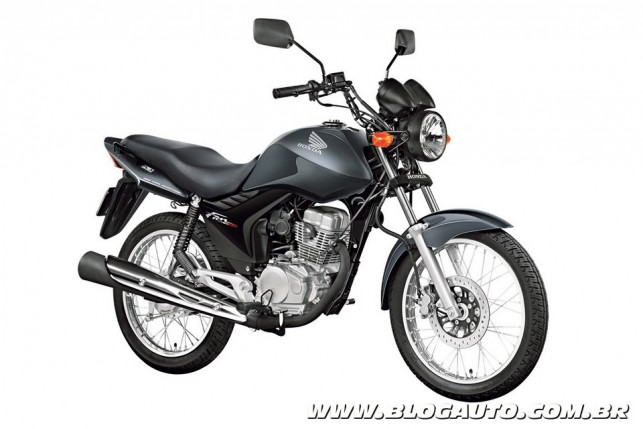Honda CG 150 Fan está entre as motos mais roubadas