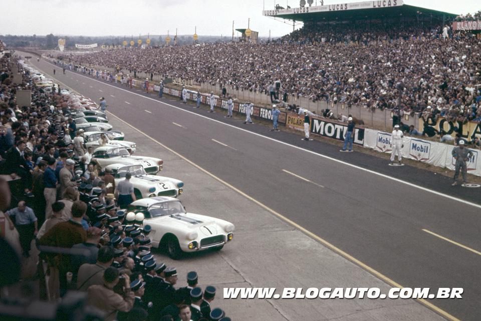 Chevrolet Corvette 1960 em Le Mans