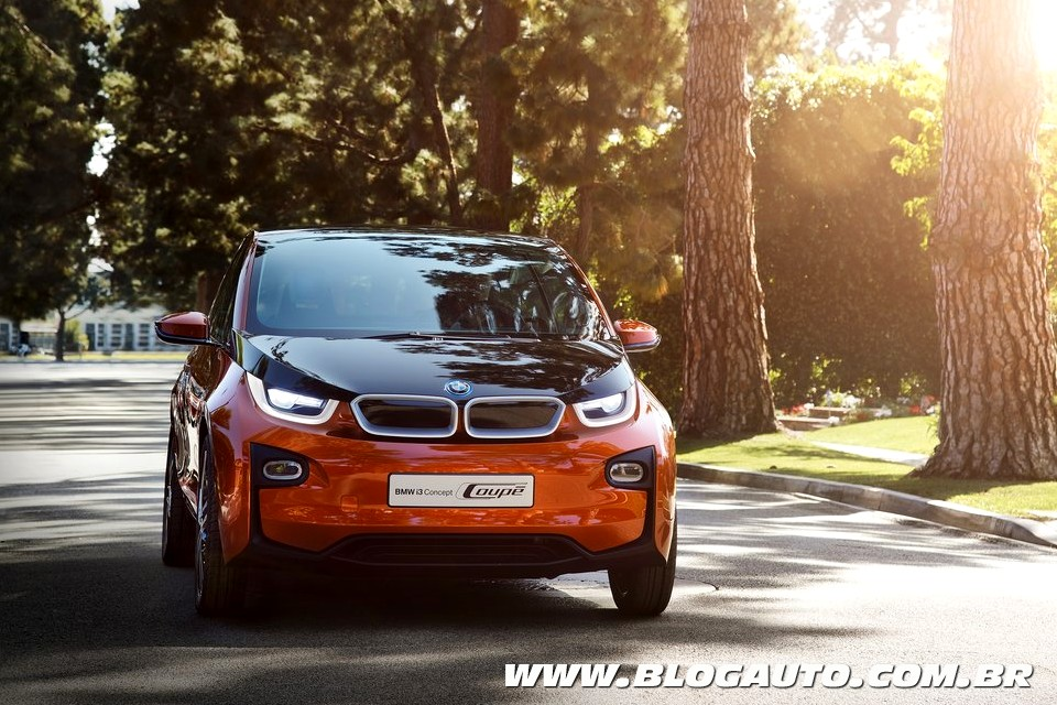 BMW i3 Coupé Concept se destaca em Los Angeles