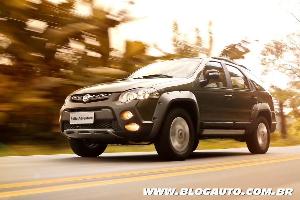 Fiat Palio e Strada Adventure agora com Dualogic Plus