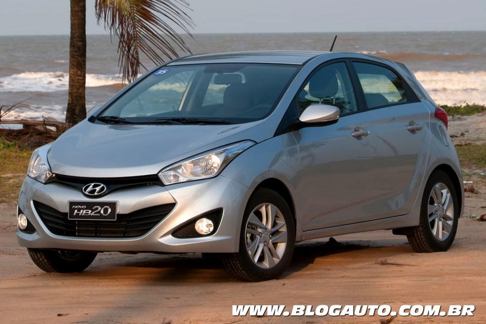Hyundai HB20 é eleito Carro do Ano 2013