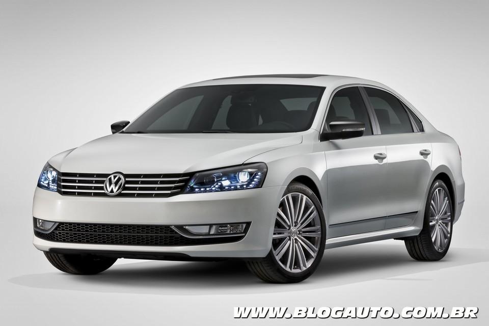 Volkswagen Passat apimentado em Detroit