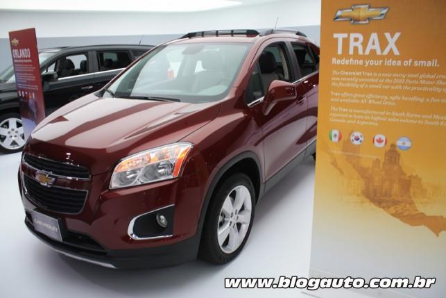 Chevrolet Trax (Tracker) em Detroit