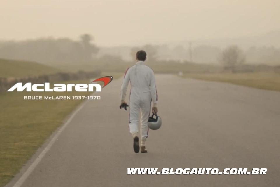 McLaren, 50 anos com vídeo de arrepiar