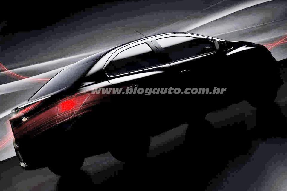 Novo Prisma 2014 tem imagem revelada pela Chevrolet