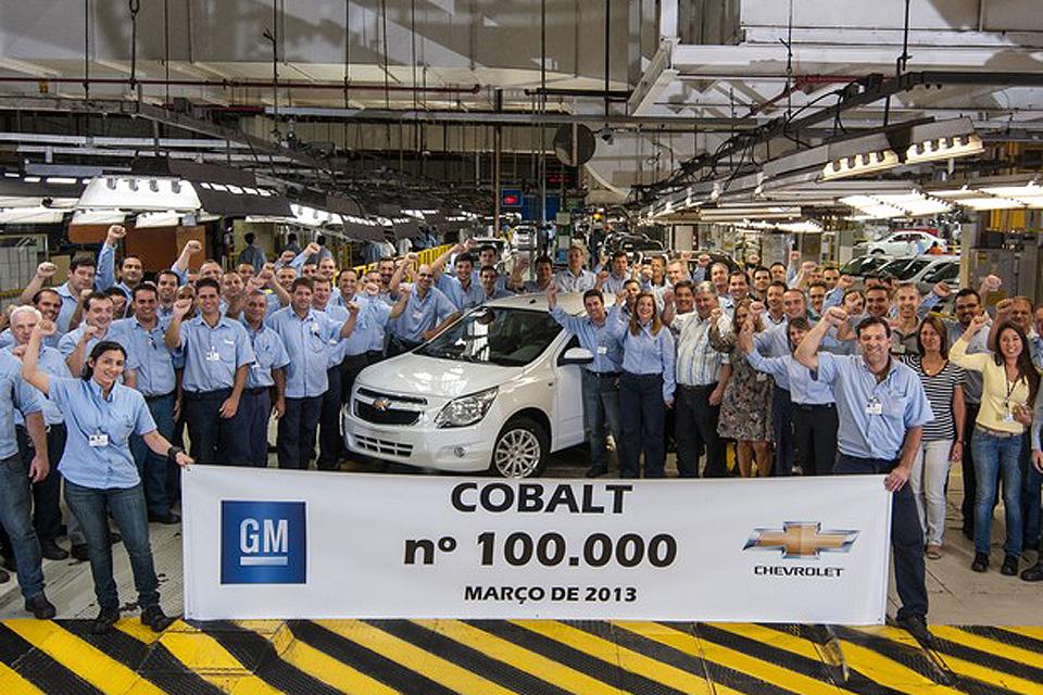 Chevrolet Cobalt: 100 mil unidades produzidas