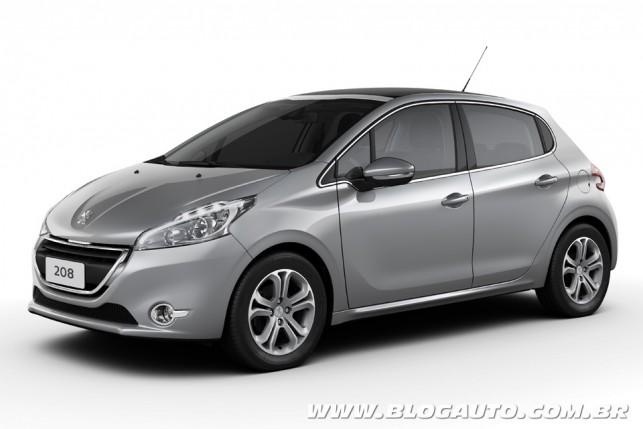 Peugeot  208 Gris Aluminium