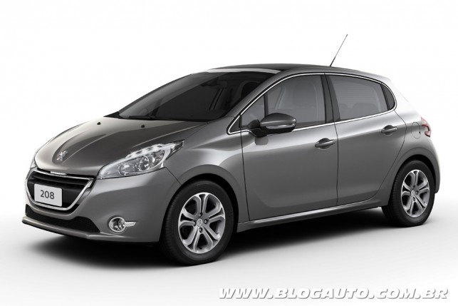 conhe a todas as cores do peugeot 208 2014 blogauto. Black Bedroom Furniture Sets. Home Design Ideas