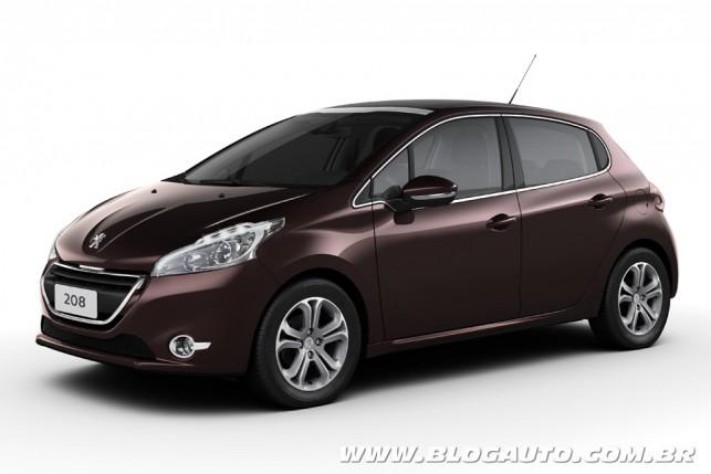 Peugeot 208 Marrom-Dark-Carmim