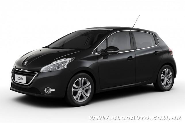 Peugeot 208 Noir Perla-Nera