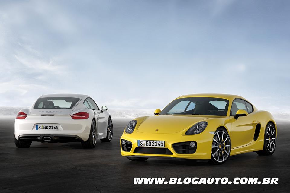 Porsche Cayman chega em abril ao Brasil