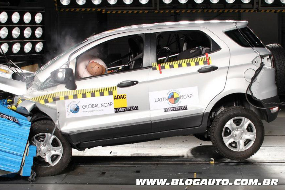 Ford EcoSport no Latin NCAP