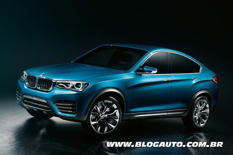 BMW X4 Concept, o segundo SUV Coupé da marca