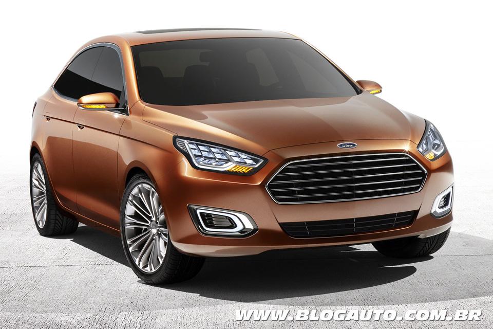 Ford Escort ressuscita na China, mas marca não diz para quê