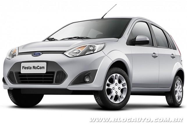 Ford Fiesta Rocam Hatch 2014
