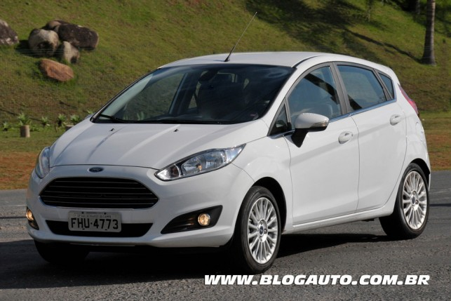 Ford New Fiesta 2014 Branco Ártico
