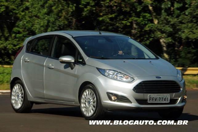 Ford New Fiesta 2014 Prata Dublin